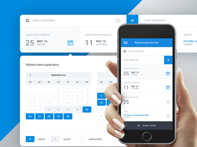 Booking App web ux ui stats mobile interface graph form dashboard app book