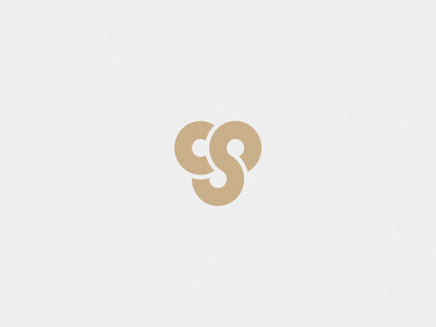 ...and another gold circle monogram simple logo brand cs s c