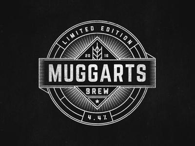 Beer Label badge vintage ale brew label beer