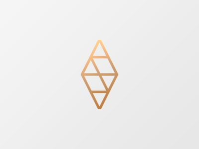 Logomark simple minimal mark logomark logo fashion gold