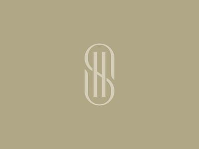 SH Monogram logomark logo h s sh monogram