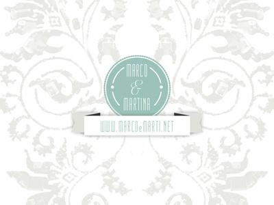 Marco & Martina wedding invitation wedding design floreal manetti elegant