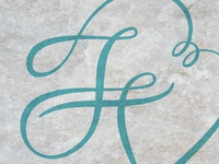 Francesco and Valentina's wedding logo