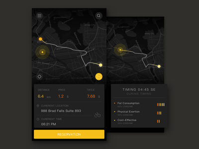 MB BIKE RD page 1 ux design ui