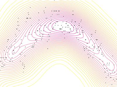 💘Stuck with this Sailor Moon's colour palette 💘 abstract design pattern curves yellow pink colours colour palette gradient information design graph diagram data chart data visualization infographic dataviz