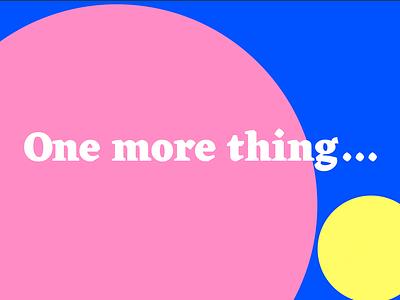 🎤 Working on a new workshop! 🎤 bubble typography workshop keynote powerpoint presentation slides yellow pink circle dots illustration data information design diagram graph chart data visualization infographic dataviz