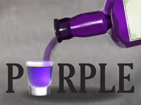 Sippin' on Purple | Blog Logo / Graphic