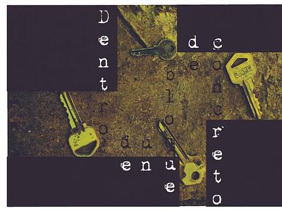 Inside a Concrete Block poster cinema design