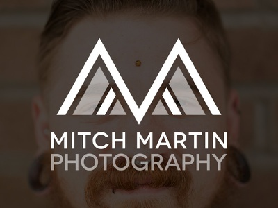 Mitch Martin Photography Logo logo branding photography mm