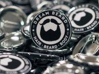 Dream Beard Worlds Pin