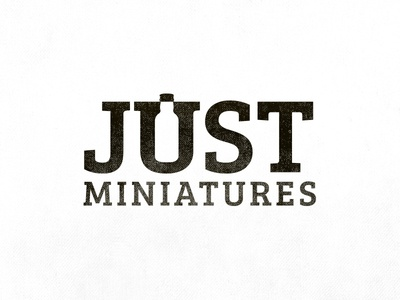 Just Miniatures Logo Design