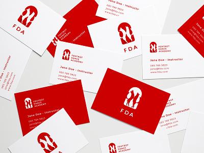 Fda Business Cards fox businesscard identity brand logo graphic design illustration