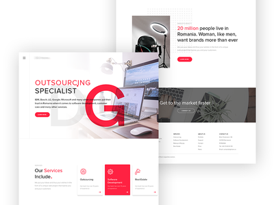 Outsourcing Specialist Website