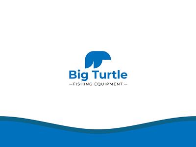 Logo Big Turtle graphic design branding logo design