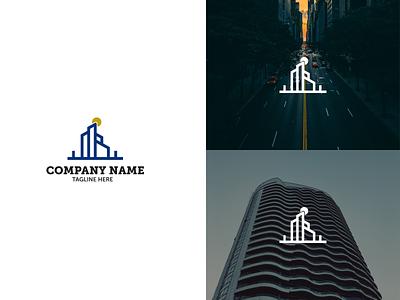 Building business logo logo graphic design design branding