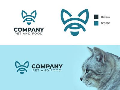 Logo pet design graphic design branding logo