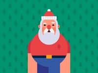 Happy B Day Santa