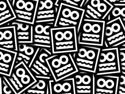 BLACK TIE stickers