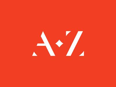 AZ monogram ⠀