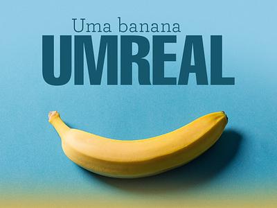Banana para tu typography design