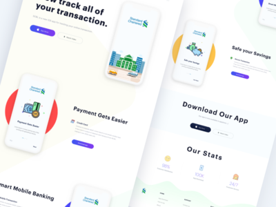 Simple Landing Page Concept V3