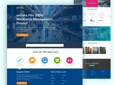 Envista Homepage