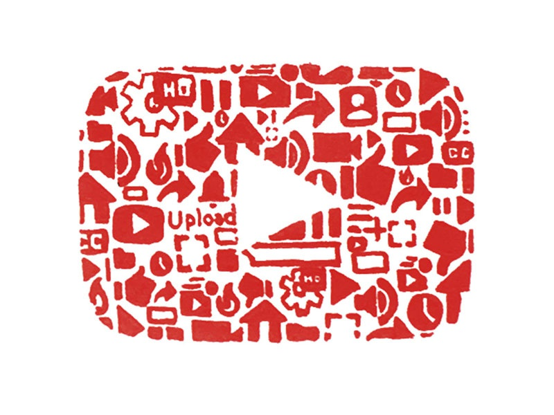 Iconoflage Youtube Logo By Scott Hofford On Dribbble