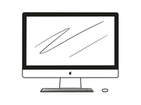 iMac Iconic Illustration