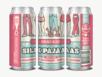 Silk Pajamas Beer Can