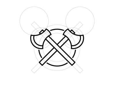 Double Axe Logo
