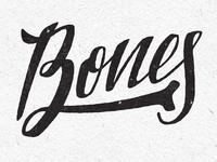 Bones Typography