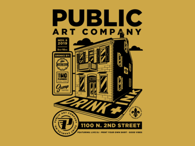 Public Art Co. Event Poster