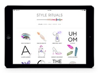 Style Rituals Homepage Layout