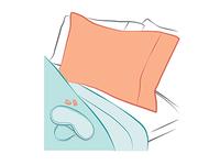 Sleep Infographic Spot Illustration Set