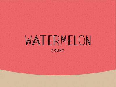 Summer time project vibes watermelon texas summer favorite