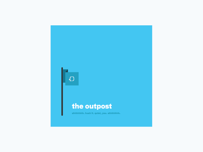 the meeting-free zone outpost clearhead flag hush quite square