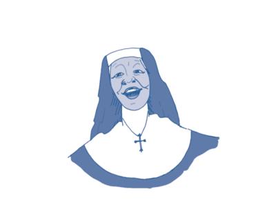 Sister Mary Clarence sister mary clarence sister act 2 sister act whoopi nun