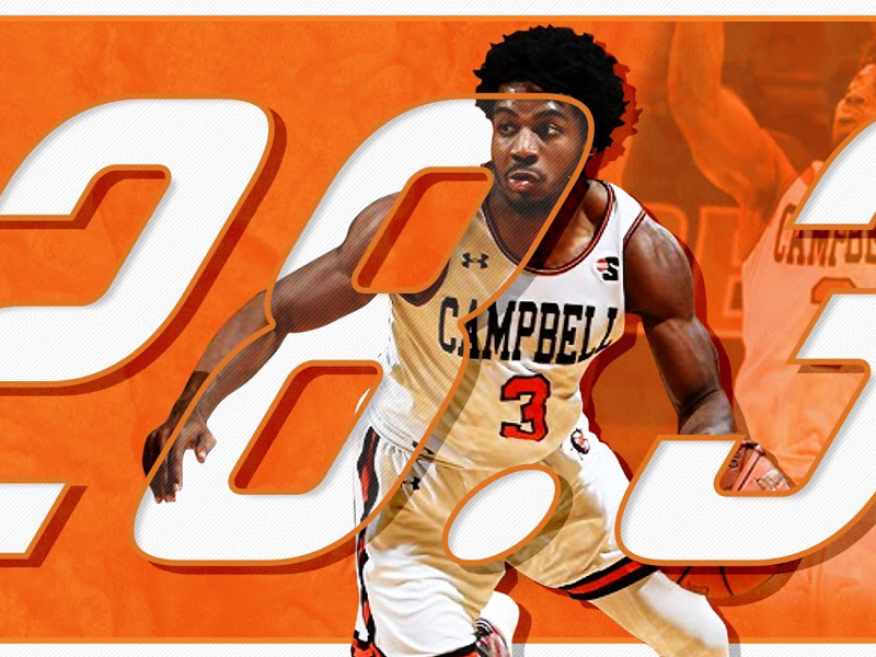 D1 Basketball: Leading Scorer cu campbell basketball athlete adobe