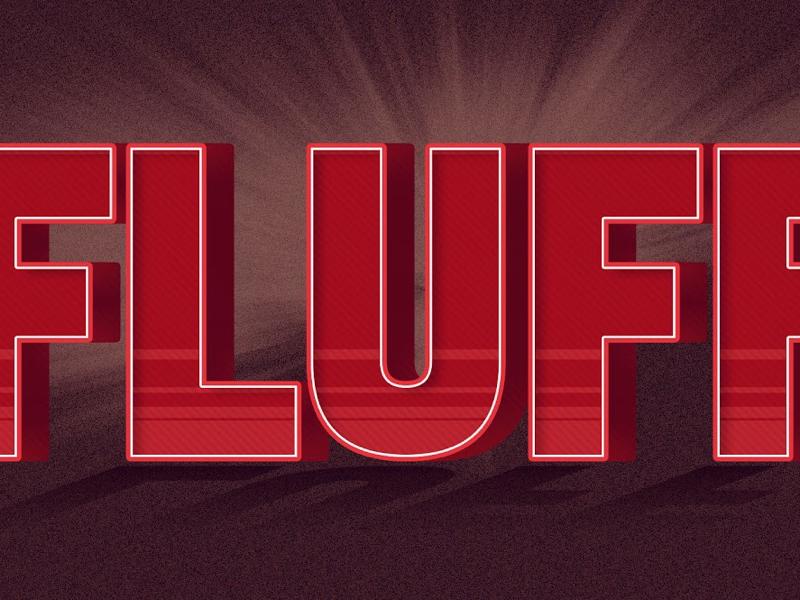 Fluff design typography font type adobe