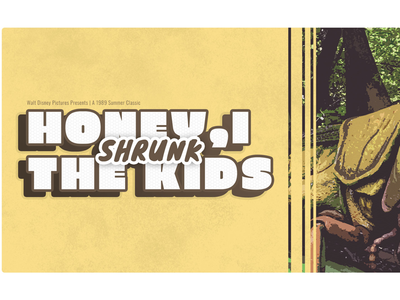 Movie Poster: Honey, I Shrunk the Kids