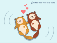 Deadly cute otters