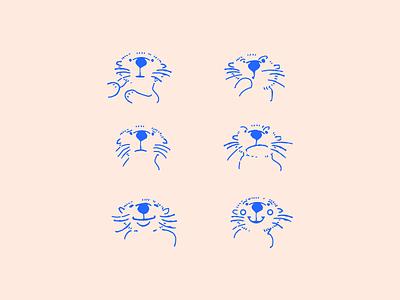 Otters otters otters illustration vector otter