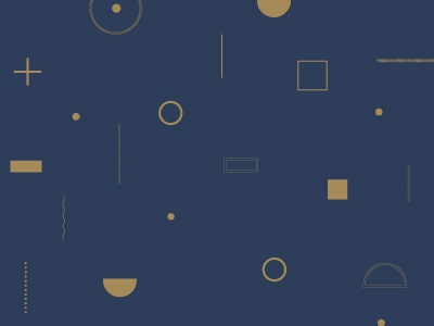 Blue & Gold Pattern