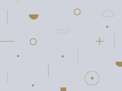 Gray & Gold Pattern