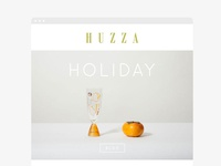 Huzza Newsletter Design