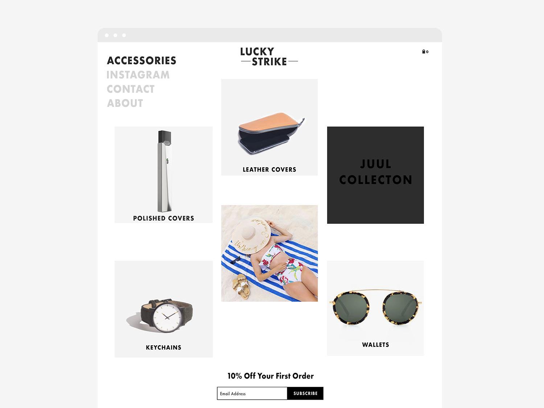 Luckystrike webmock 2 accessories