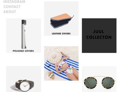 Accessories Page - Website Design