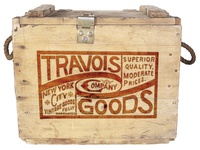 Travois Goods Co. Crate Logo