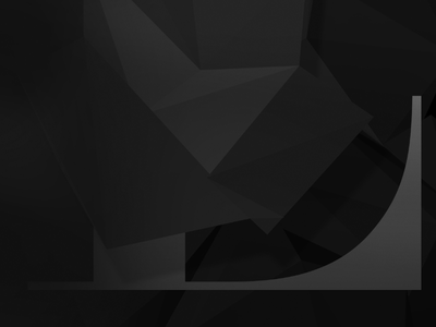 A sneak peak at a poster I'm working on. poster type shades triangles