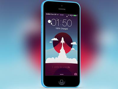 Spaceship wallpaper wallpaper free freebie download ios iphone